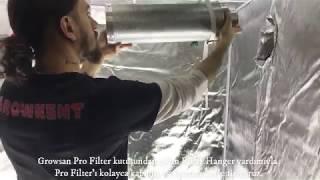 Growsan Pro Filter & Filter Hangers Kurulum