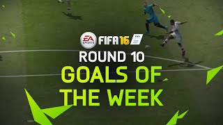 FIFA 16 - Best Goals of the Week - Round 10