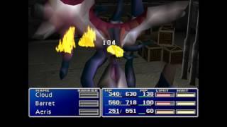 Final Fantasy 7, Junon, Cargo ship, boss - Jenova BIRTH