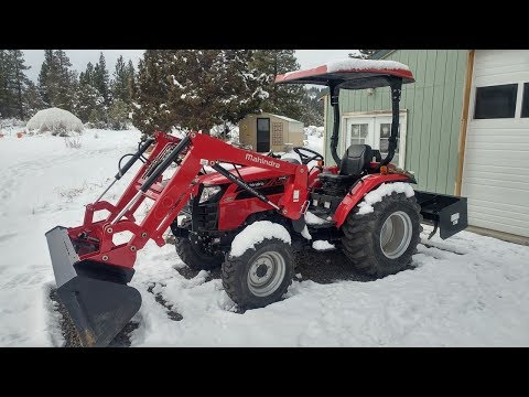 Mahindra 2540L 40HP 4WD Tractor Review