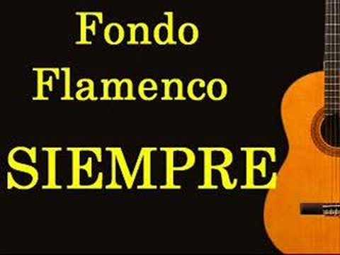 letra cancion fondo flmenco:
