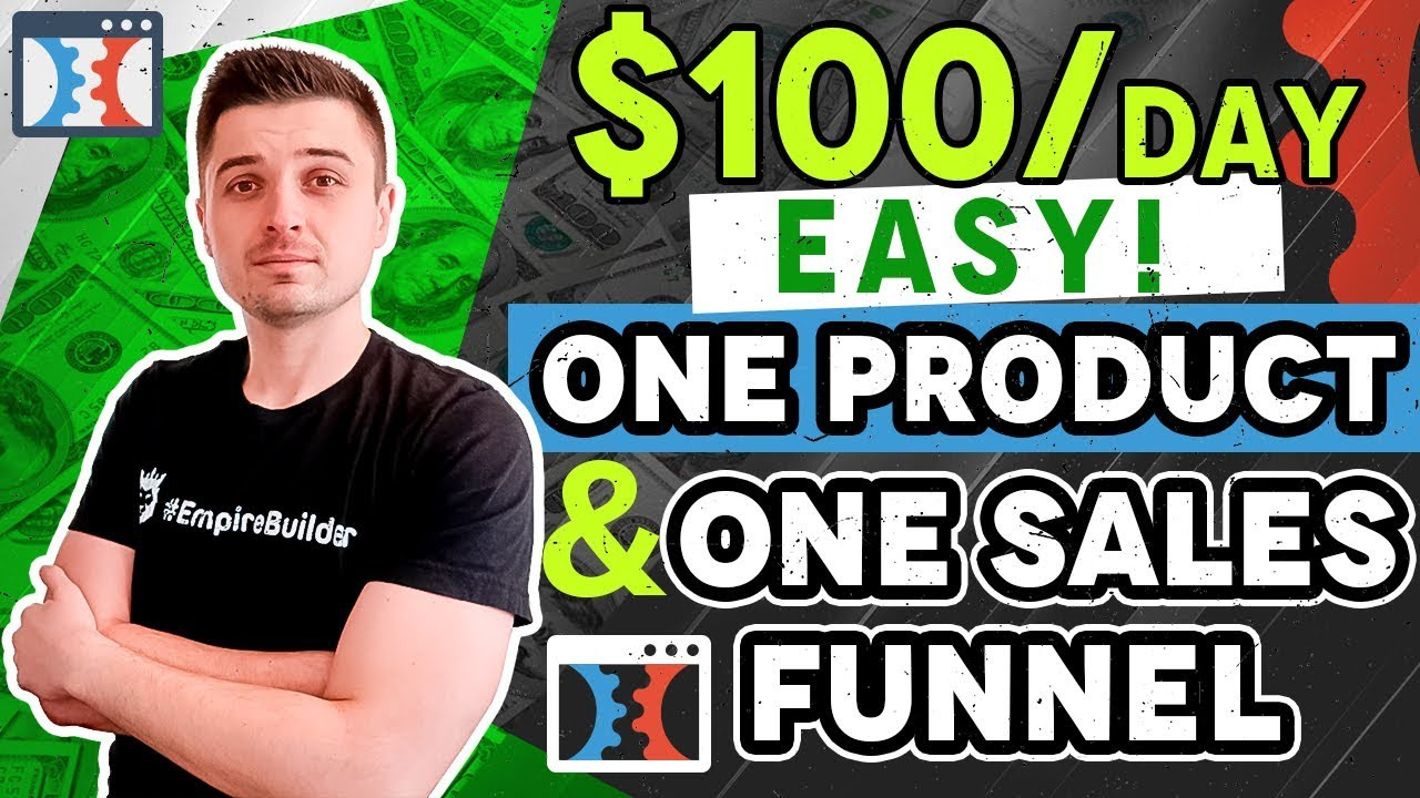 CLICKFUNNELS DROPSHIPPING TUTORIAL: $100 PER DAY WITHOUT TESTING HUNDREDS OF PRODUCTS OR SHOPIFY!