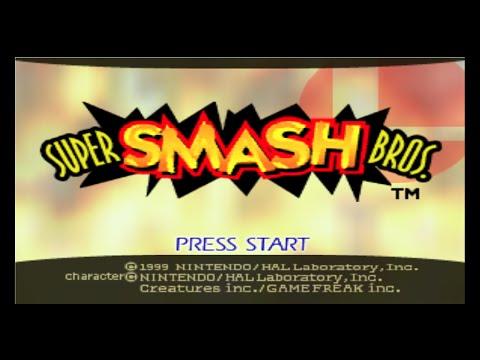 Nintendo 64 Longplay [005] Super Smash Bros.