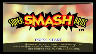 Nintendo 64 Longplay [005] Super Smash Bros.