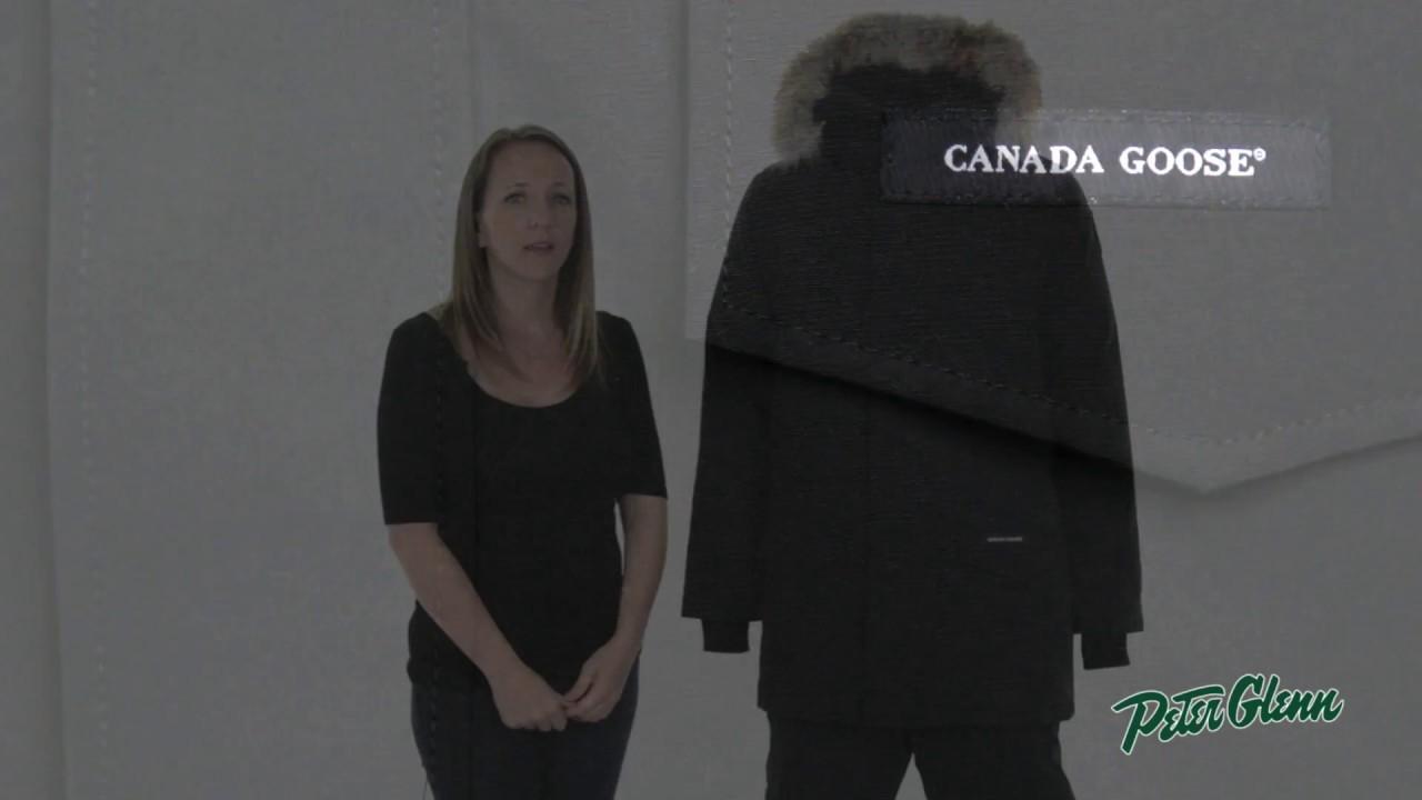 canada goose parka logo