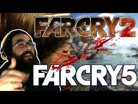 REACCION! COMPARATIVA FAR CRY 2 VS FAR CRY 5