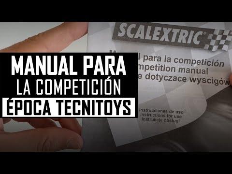 📝 MANUAL para la COMPETICIÓN 【Documentación 】 Scalextric 2004