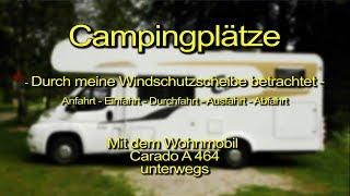 """Camping Toblacher See"" in Toblach – Südtirol / Alto Adige / Italien / Italy"