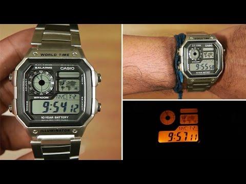 Casio Retro Classic AE 1200WHD 1AVEF Reloj