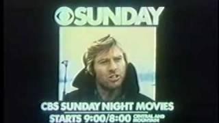 CBS Promo Three Days Of The Condor 1977