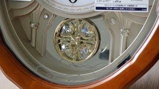 Обзор Seiko AM257B Wave Symphony музыкальные настенные часы