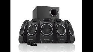 Creative A550 5.1 Surround Sound PC Speakers & Sound Test