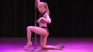 2017 US Pole Dance Championship Novice Sexy - Helena Maria