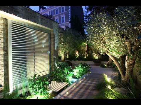 Garden Lighting | Garden Lighting Design - Youtube