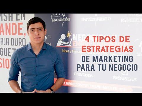 4 Tipos de Estrategias de Marketing para tu Negocio