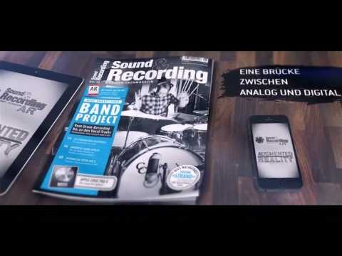 Magazin mit Augmented Reality // Sound & Recording Musiker AR App