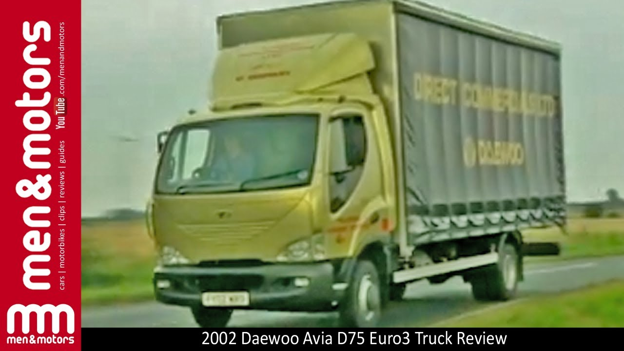 2002 Daewoo Avia D75 Euro3 Truck Review - YouTube