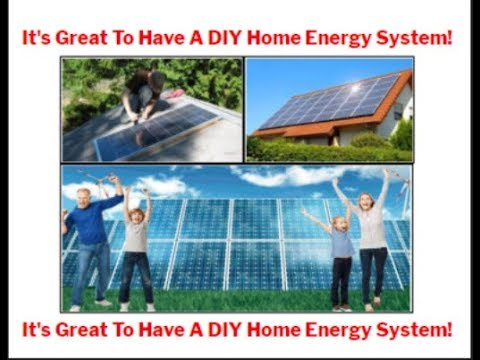 DIY Home Energy System For Self Installation