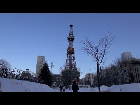 Winter travel in Sapporo, Hokkaido / 真冬の北海道旅行(札幌)2013