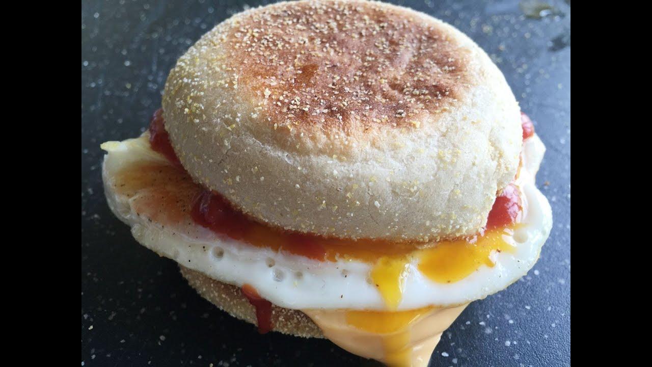 Homemade Egg Mcmuffin Recipe - YouTube