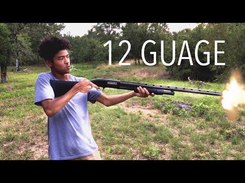 First Time Shooting a Shotgun