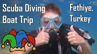 Scuba Diving Boat Trip In Fethiye Turkey