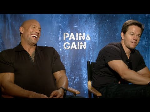 PAIN & GAIN Interview: Mark Wahlberg, Dwayne Johnson, Anthony Mackie, Tony Shaloub, Ken Jeong & Paly