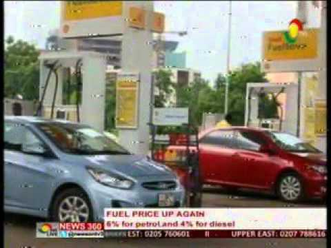 News360 - Fuel prices up again  6% for petrol and 4% for diesel - 2/4/2016
