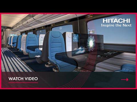 Hitachi Rail High Speed concept interior