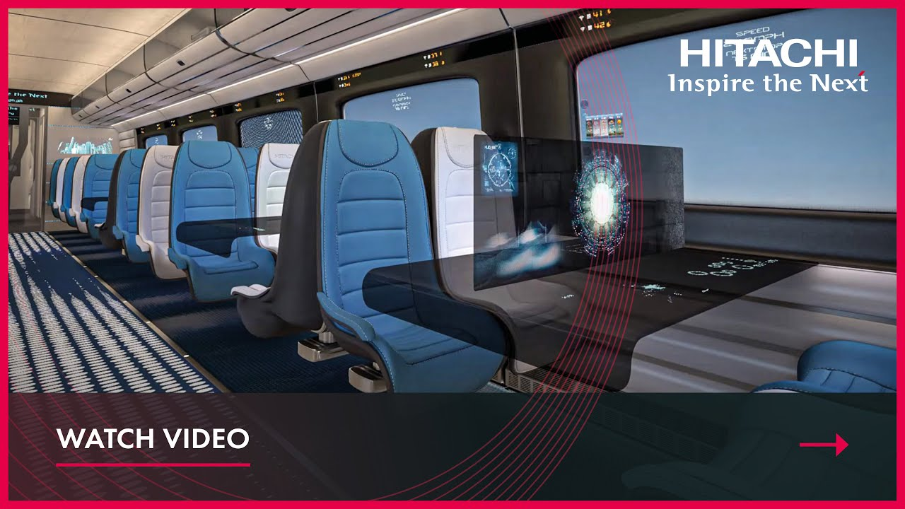Hitachi Rail High Speed Concept Interior Youtube