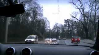 Audi S3 Crash - Onboard View - Full HD