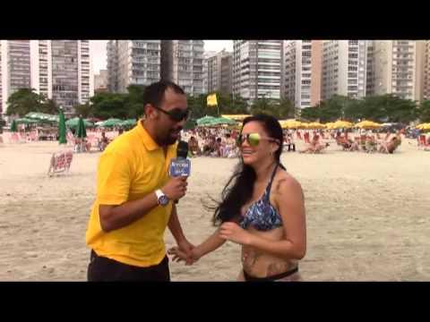 Informe de playas en Santos do Brasil Best Cable tv