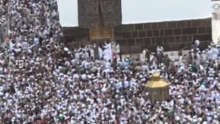 rain in MASJID AL HARRAM 5th zul hajj 1433H (full HD)