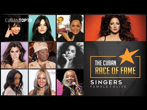 Top 10 │ Most Famous Cuban Female Singers Alive 2017 By David Lopez