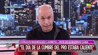Horacio Rodríguez Larreta en el círculo rojo intratable (18/07/19)