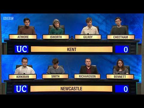 University Challenge S45E03 - University of Kent  vs University of Newcastle
