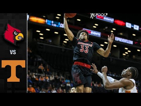 Louisville vs. Tennessee Basketball Highlights (2018-19)