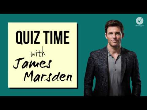 Quiz Time with Westworld's James Marsden