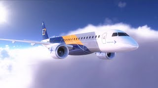 Embraer Unveils New Cabin Concept for the E-Jet Family - AINtv