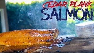 Maybe the Best Cedar Plank Salmon Ever | SAM THE COOKING GUY