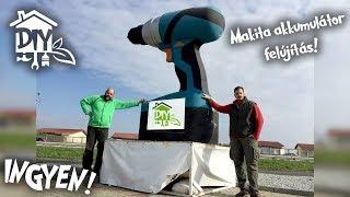 Fúró akkumulátor felújítás INGYEN! | Green Cottage DIY