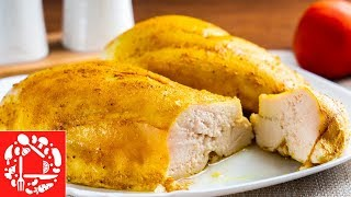 Лучший Рецепт Куриной Грудки Для Салата и не только. Сочное куриное филе в духовке