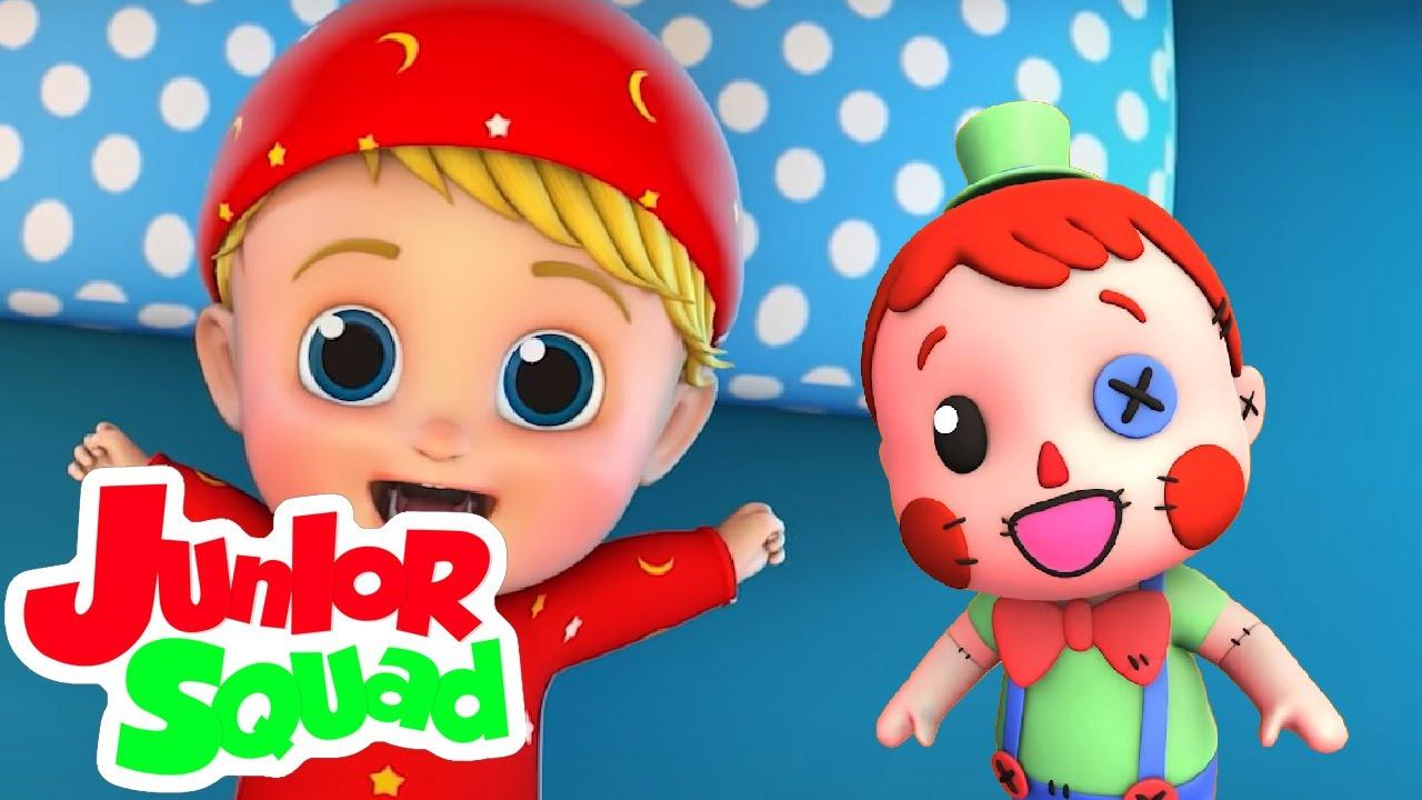 عندما تأتي اللعب في الحياة |  اغنية للاطفال | Junior Squad Arabic | فيديوهات ما قبل المدرسة