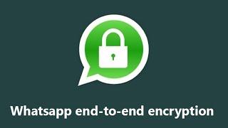 whatsapp uçtan uca şifreleme sistemi nasıl çalışır?