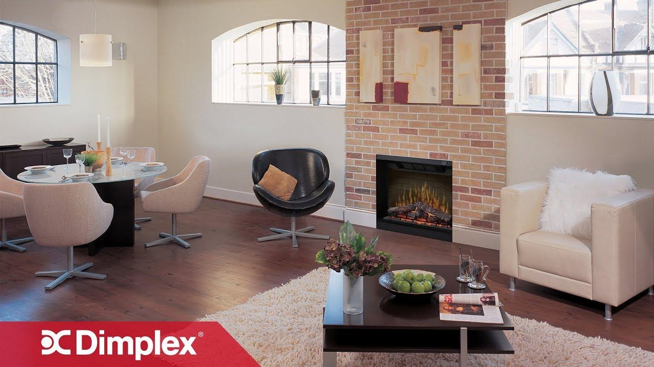 Multi Fire Xd Electric Fireplace Log Series Dimplex