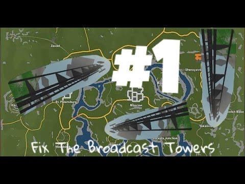 Unturned | Rusya Görevleri | Fix The Broadcast Towers | #1