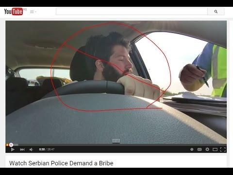 Response to Canadian Bribing Serbian Policeman Video