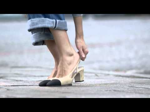 4cb783dc78f CHANEL  The Two-Tone Slingback Story  1 - YouTube
