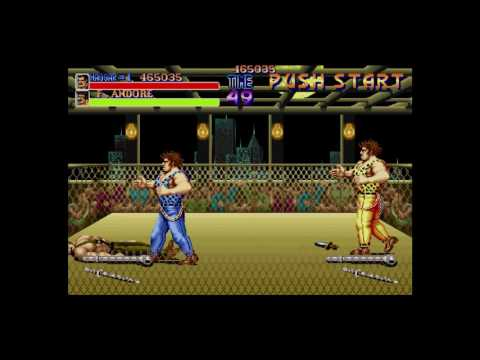 Final Fight 1 Boss #3: F. Andore & G. Andore