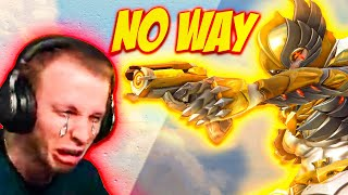 insane ana gameplay eטen Jay3 couldn't handle w/ reactions (Overwatch)